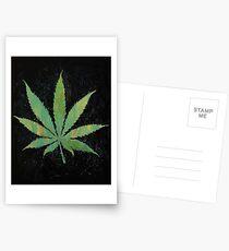 Pot Leaf Postcards