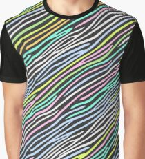 Halftone Pattern, Abstract Background of rippled, wavy lines Graphic T-Shirt