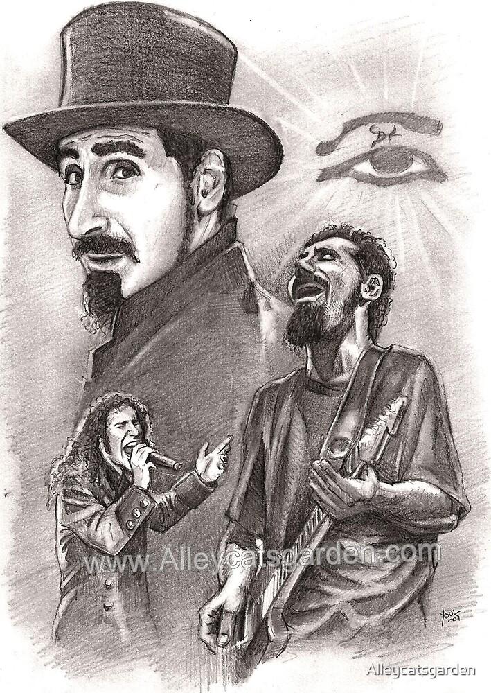 Serj Tankian by Alleycatsgarden