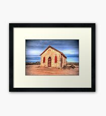 Worship In The Past Framed Print