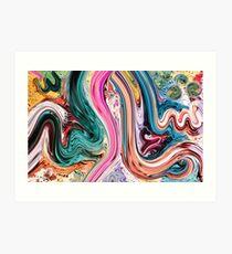 Ma Sha Allah Modern Calligraphy  Painting Art Print