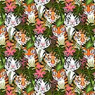 Tiger Clan by michaelzindell
