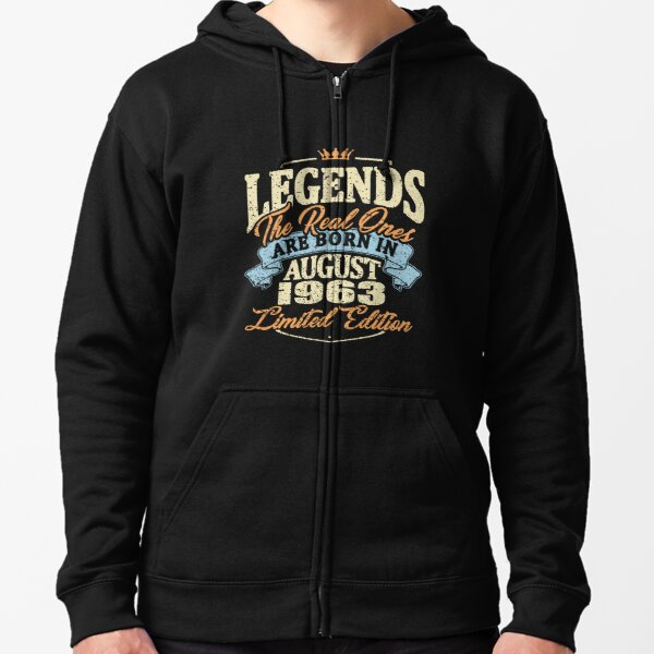 Hoodie 1014 Im a Legends Kings because I was are born in august