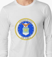 Service mark of the USAF Long Sleeve T-Shirt