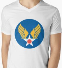 United States Army Air Corps Men's V-Neck T-Shirt