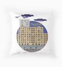 Barcelona unusual souvenirs Throw Pillow