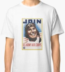 United States Army Air Corps Recruiting Poster Classic T-Shirt