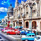 Havana National Theater & Capitol, Cuba,Havana, Cuba by Paul Thompson Photography