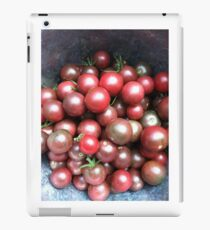 Black Cherry Tomatoes iPad Case/Skin