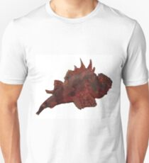 Unique Red Fish Underwater Marinelife  T-Shirt