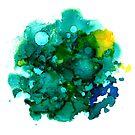 Teal Ocean by inkcetera
