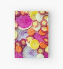 Fresh Sliced Roots Hardcover Journal