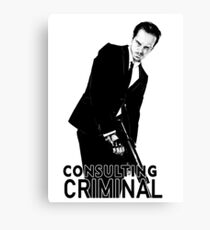 Jim Moriarty (Consulting Criminal) Canvas Print