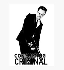 Jim Moriarty (Consulting Criminal) Photographic Print
