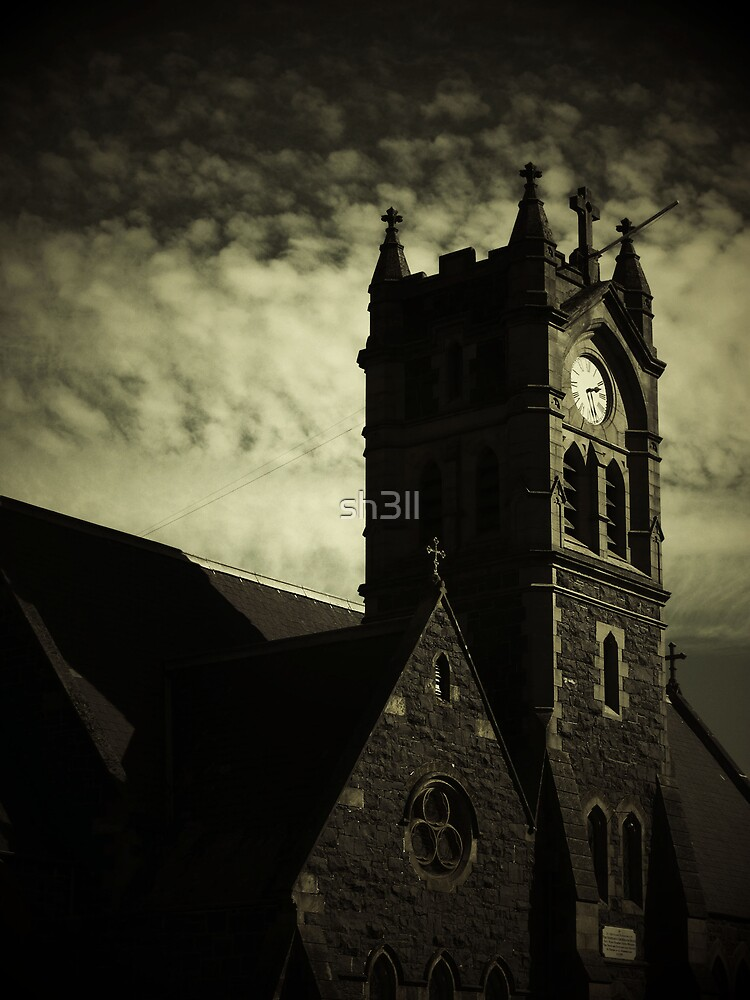 Gloomy Church by sh3ll