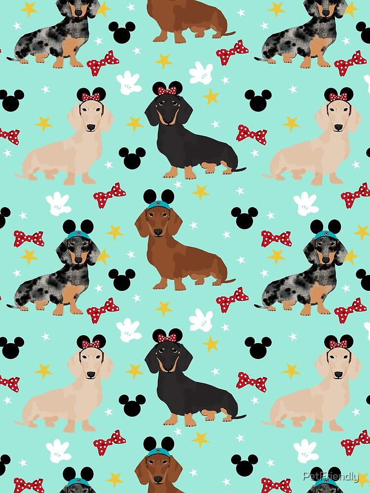dachshund theme park dog lover vacation wiener dogs  by PetFriendly