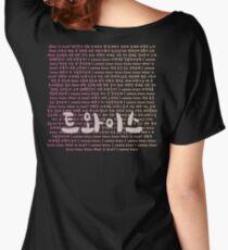 Twice What Is Love Lyrics Shirt Kpop Women's Relaxed Fit T-Shirt