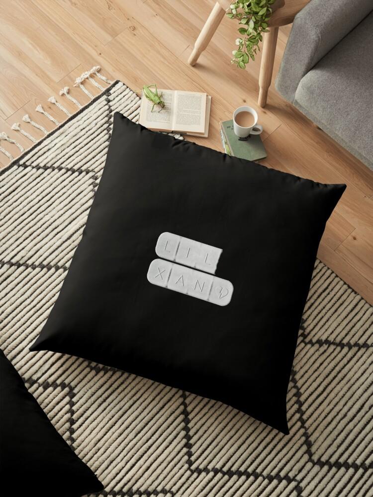 Lil Xan Xanax Bar Floor Pillows By Hypetype Redbubble