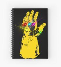 The Infinity gauntlet Spiral Notebook
