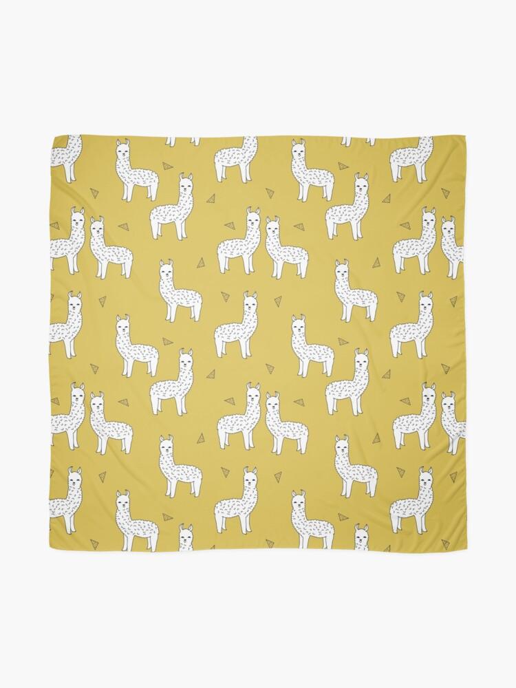 Alternate view of Alpaca - Mustard by Andrea Lauren Scarf