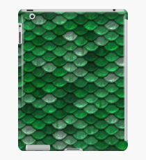 Green Mermaid Scales iPad Case/Skin