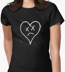 Sad Heart Women's Fitted T-Shirt