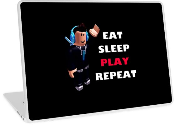 'Roblox - Eat Sleep Play Repeat' Laptop Skin by hypetype