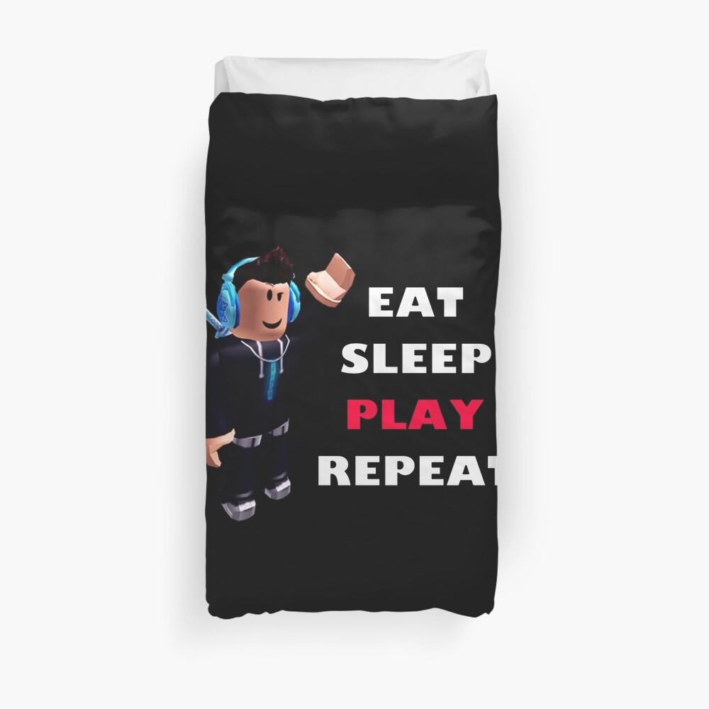 Roblox - Essen Schlafen Spielen Wiederholen Bettbezug