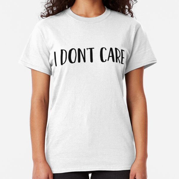 Breaking News I Don/'t Care CROP TOP T SHIRT WOMENS FUNNY HIPSTER SLOGAN CUTE