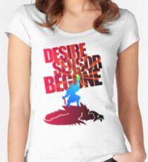 Desire Sensor, Begone! Women's Fitted Scoop T-Shirt