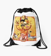 Enter the Dragon Drawstring Bag