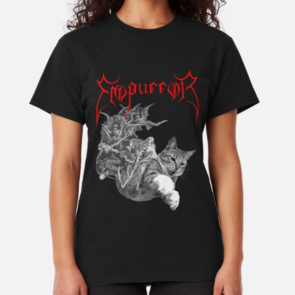 DARKSIDE CLOTHING Satan/'s Kitty girls//ladies//womens t-shirt//top cat//gothic//cross