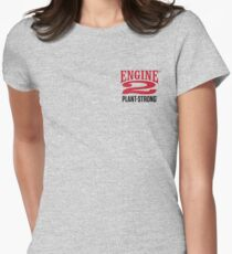 Engine 2 Plant-Strong Women's Fitted T-Shirt