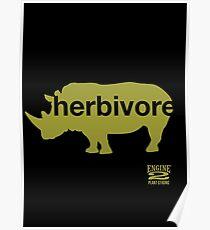 Herbivore Green Poster