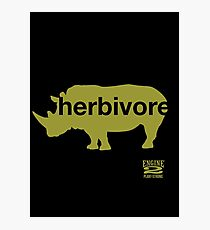 Herbivore Green Photographic Print