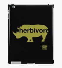 Herbivore Green iPad Case/Skin