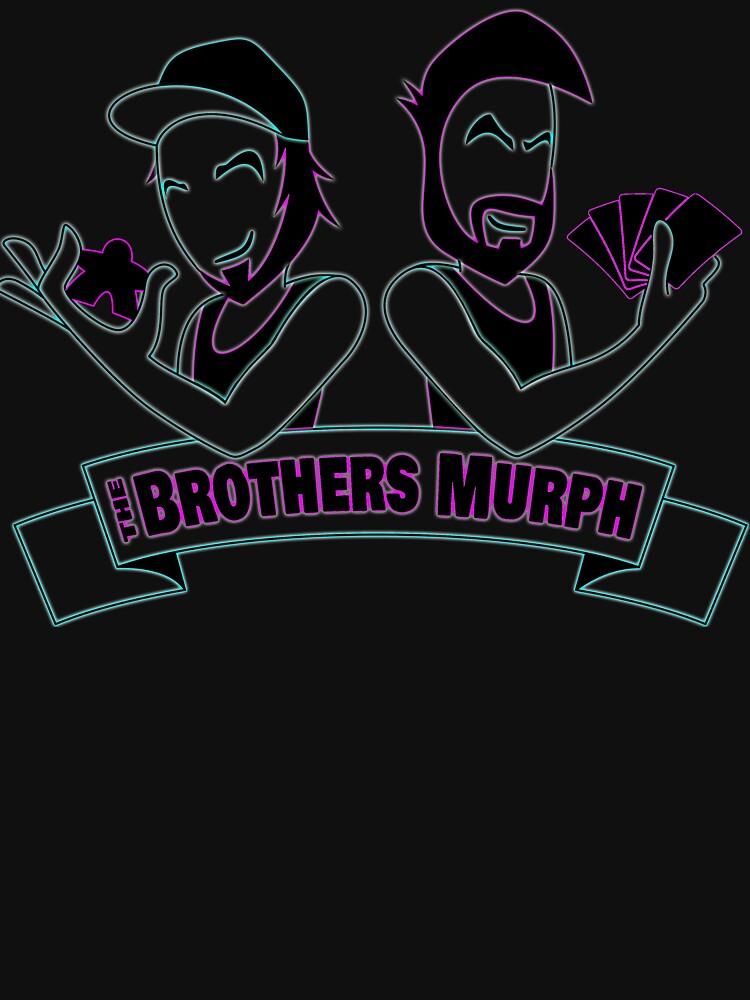 The Brothers Murph Logo Retro by BrothersMurph
