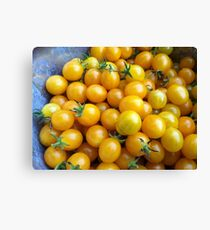 Heirloom Cherry Tomatoes Canvas Print