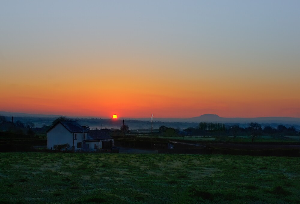 Co.Antrim Sunrise by Michael Jordan
