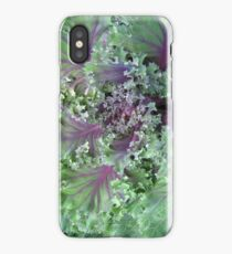Fresh Red Kale From the Garden iPhone Case