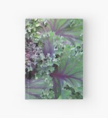 Fresh Red Kale From the Garden Hardcover Journal