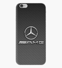 mercedes amg logo carbon iPhone Case