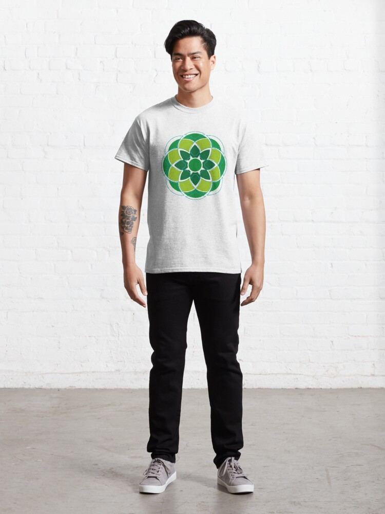 Alternate view of Flower#01 Classic T-Shirt