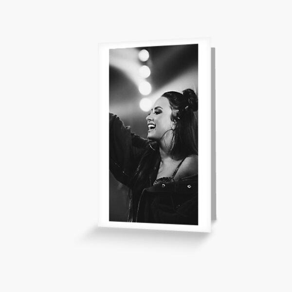 Demi Lovato  Greeting Card