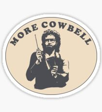 MORE COWBELL - WILL FERRELL Sticker