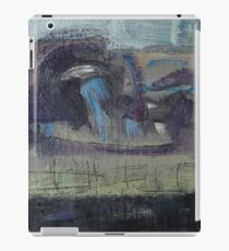spring landscape with fence iPad Case/Skin
