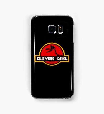 Clever Girl Samsung Galaxy Case/Skin