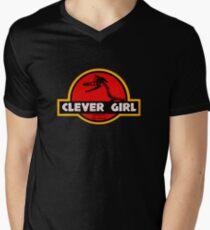 Clever Girl Men's V-Neck T-Shirt