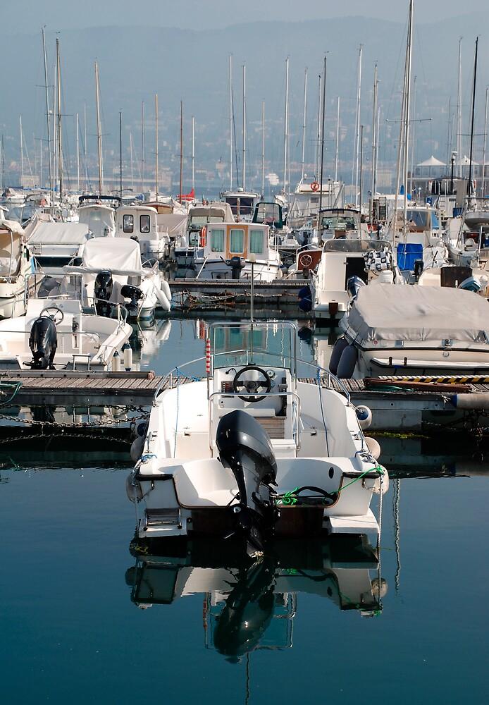 Boat in Trieste Marina by jojobob