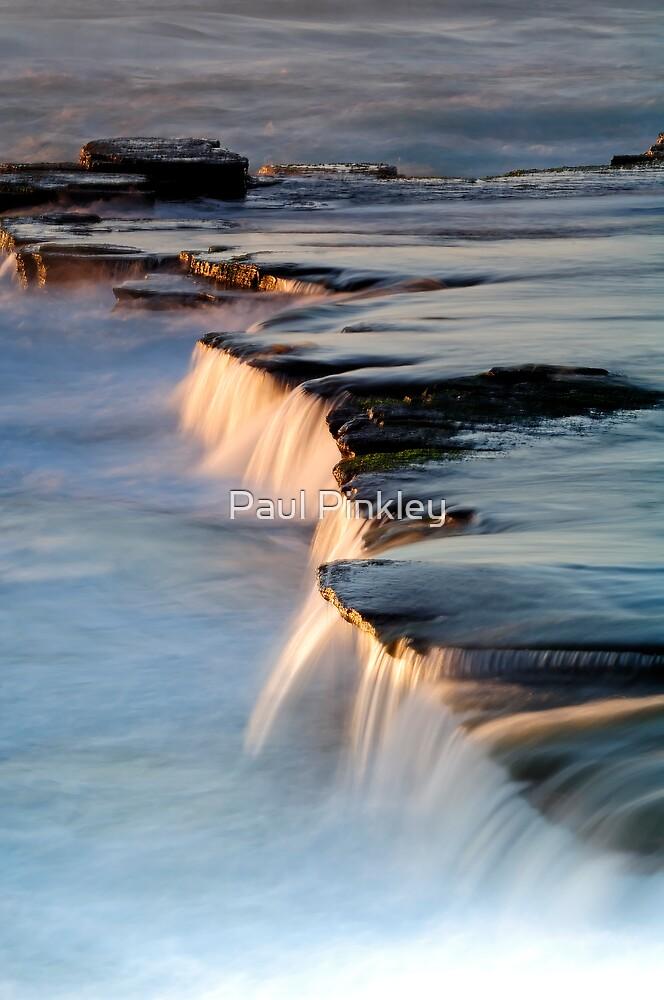 Seascape Waterfall by Paul Pinkley
